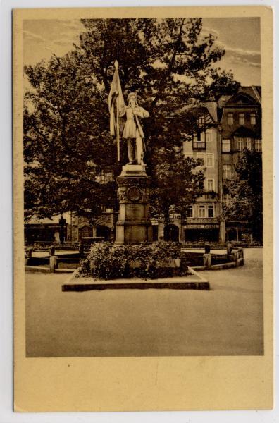 AK Jena, Burschenschafter-Denkmal, Eichplatz, 1920 - <span itemprop=availableAtOrFrom>Karnabrunn, Österreich</span> - Rücknahmen akzeptiert - Karnabrunn, Österreich