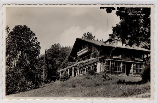 AK Vevey, L Aurore, Nant Corsier, 1950 - <span itemprop=availableAtOrFrom>Karnabrunn, Österreich</span> - Rücknahmen akzeptiert - Karnabrunn, Österreich